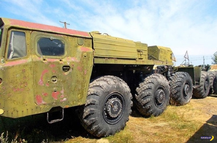 В Киеве продается динозавр МАЗ-547Э