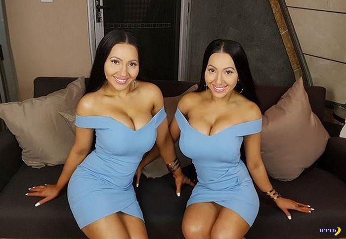 Одно увлечение двоих близняшек