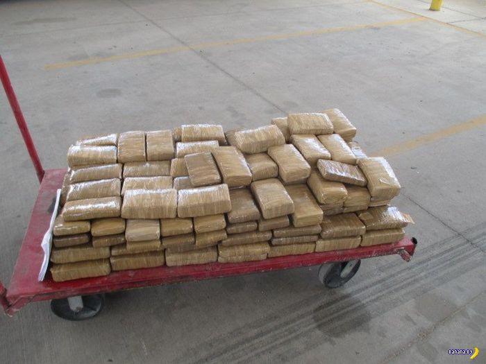 140 килограмм отличной марихуаны!