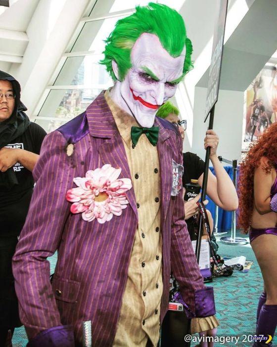 Лучший косплей с Comic Con 2017