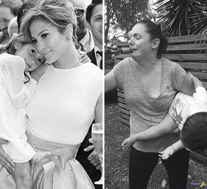 Чудесные пародии фотографий знаменитостей