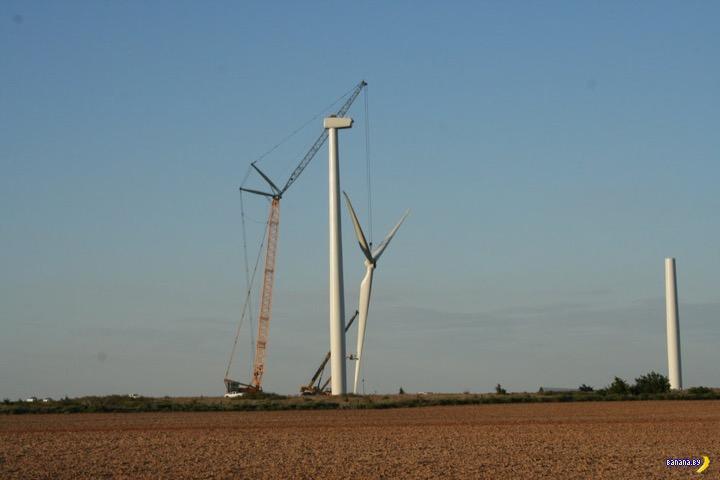 Самую мощную ветряную ферму построят в Оклахоме