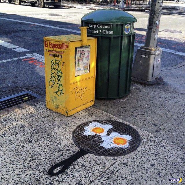 Искажение реальности в городской среде