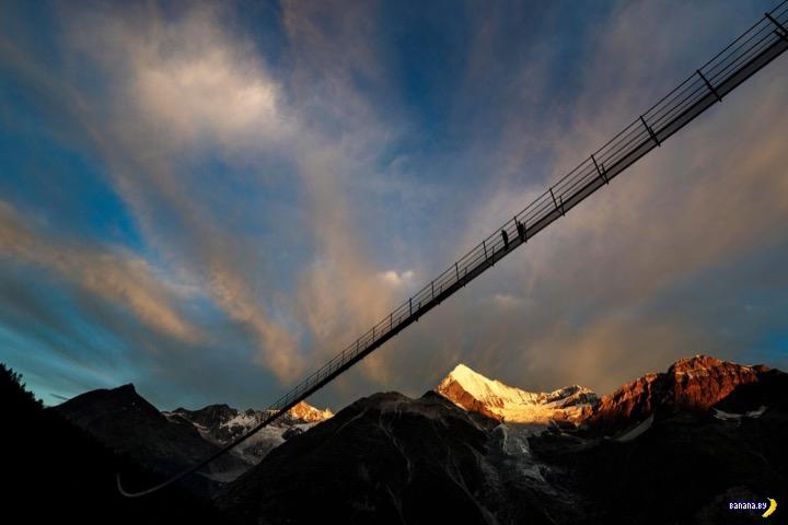 Europabruecke –самый длинный навесной мост в мире
