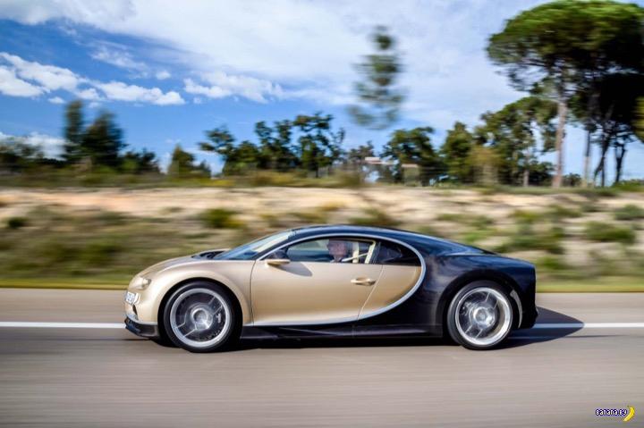Отличная новость для владельцев Bugatti Chiron!