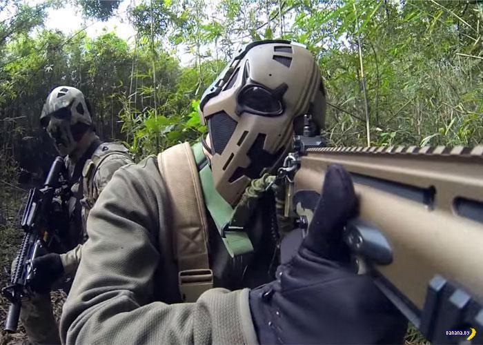 SAS испытывает новый баллистический шлем