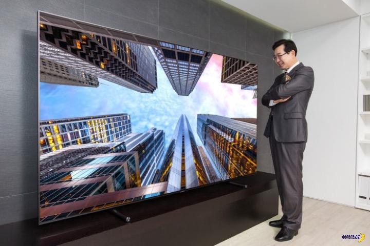 88 дюймов телевизора от Samsung