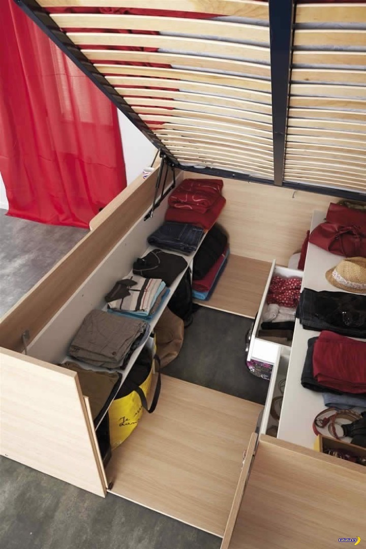 Идея для небольшой квартиры