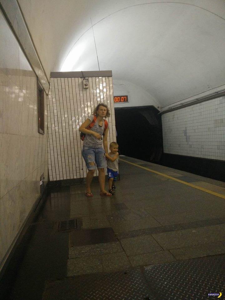 Ситуация в киевском метро