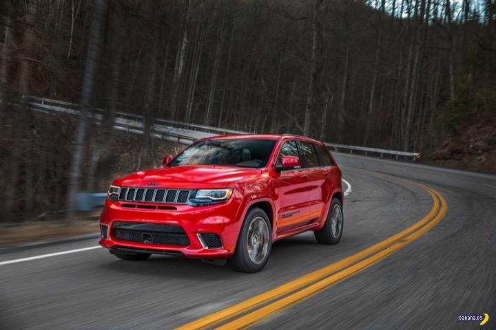 Jeep Grand Cherokee Trackhawk –к черту экономию!