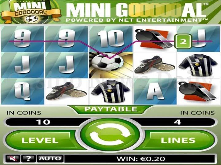 Игровые автоматы на тему футбола