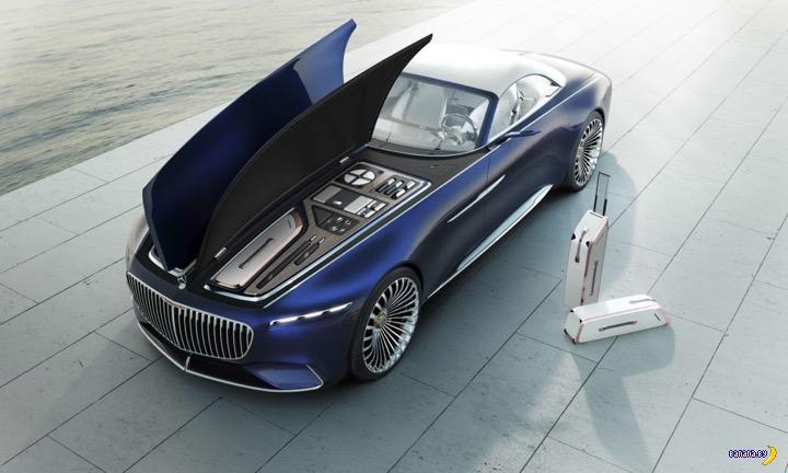Невыносимо прекрасный Vision Mercedes-Maybach 6
