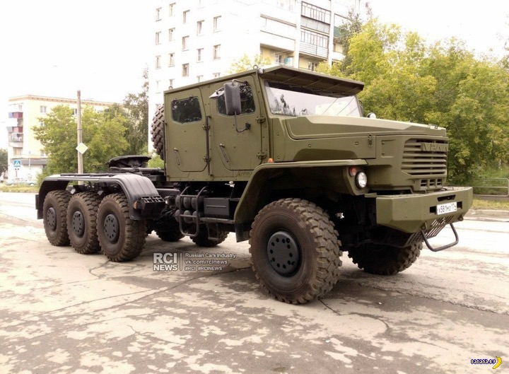 Красавец УРАЛ-6308