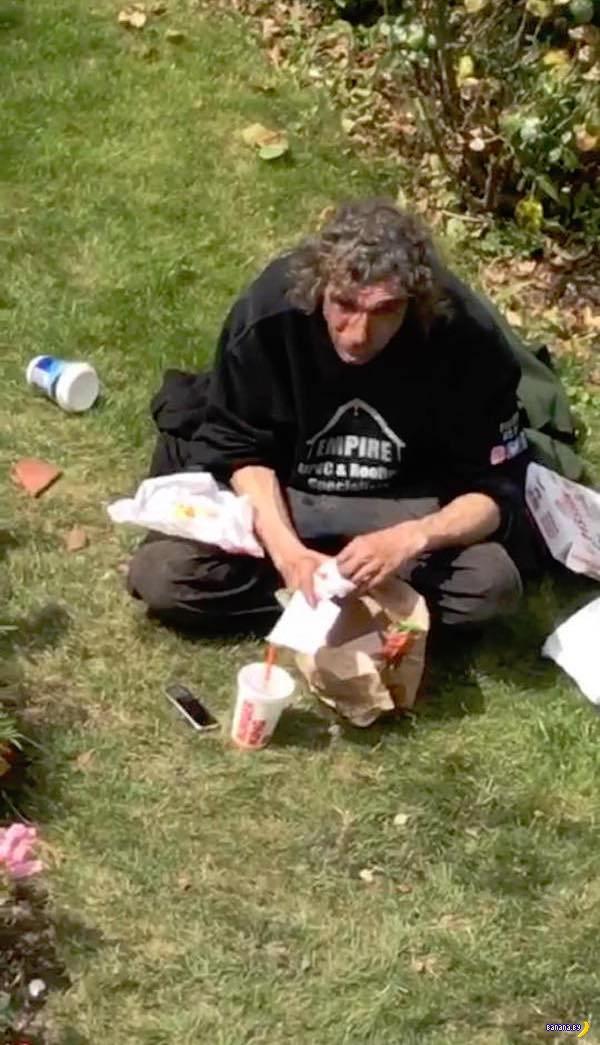 История лондонского бездомного