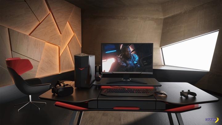Lenovo Legion Tower - играть красиво!