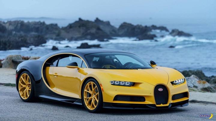 В США доставили первый Bugatti Chiron