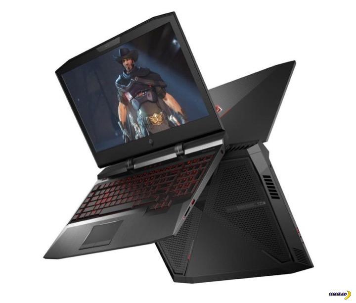 Мощный игровой ноутбук HP Omen X