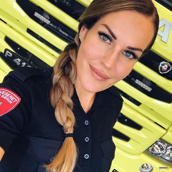 Гунн Натрен – самая красивая женщина-пожарный - 2