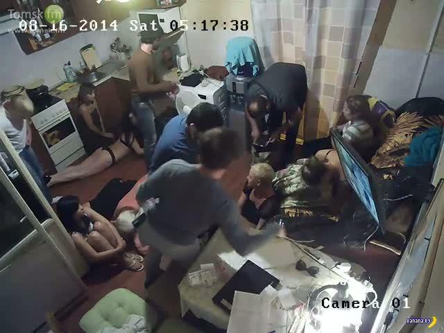 Ограбления нелегальных борделей и борьба с грабителями
