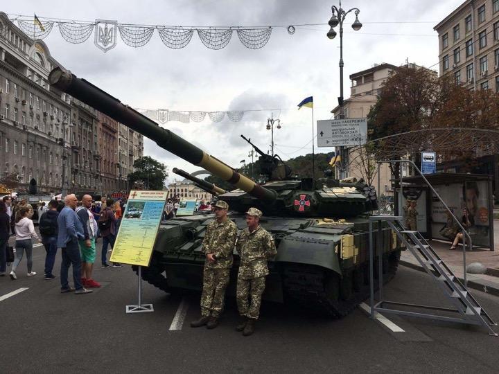 Украинская военщина