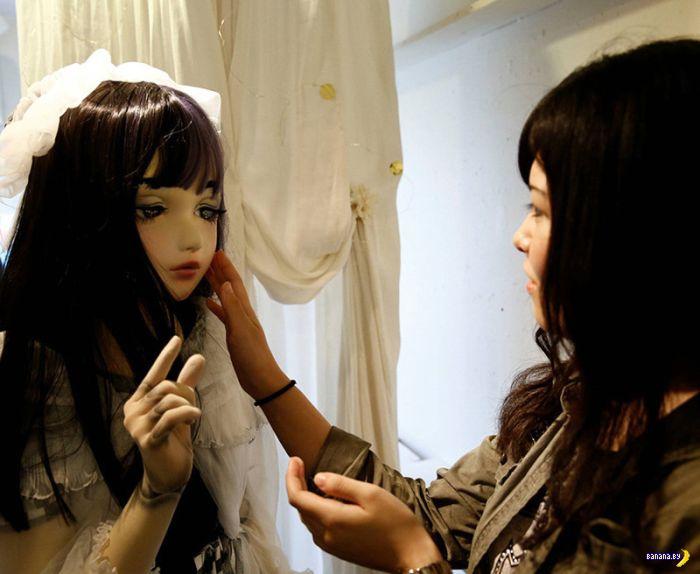 Живая кукла Лулу Хашимото