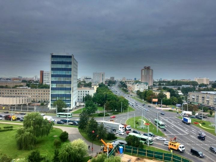 Погода: сегодня почти без дождей