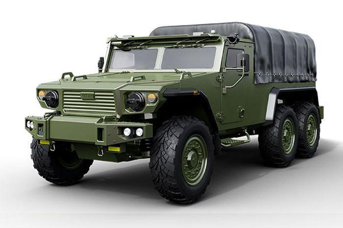 Белорусский бронегрузовик Витим 668240