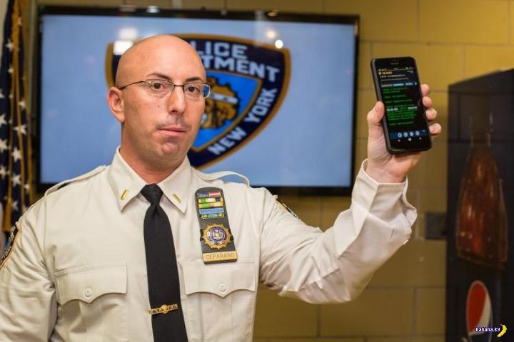 Полиция Нью-Йорка скупая и будет платить дважды