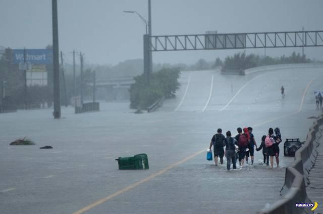 Ураган Харви натворил делов...