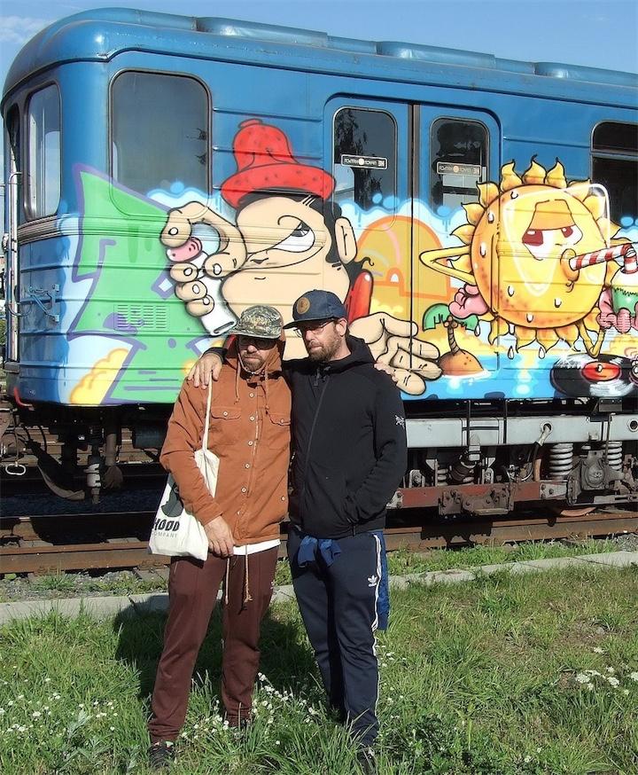 По минскому метро поедет разрисованный вагон