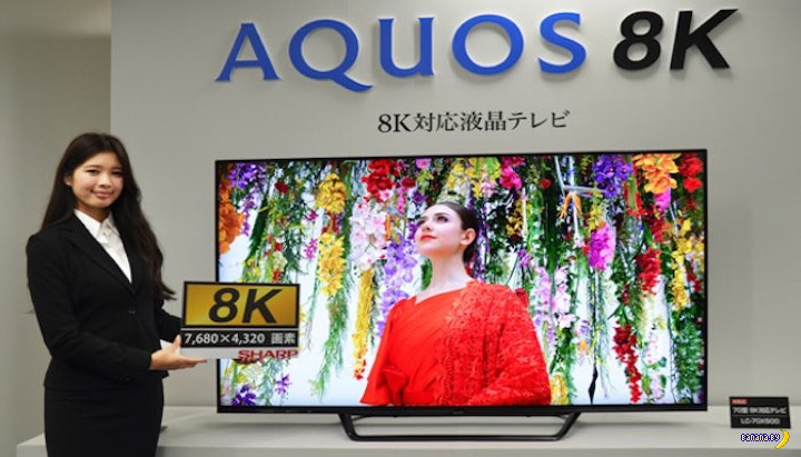 А кому телевизор 8К?