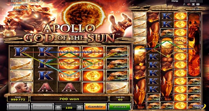 Вышел игровой автомат Apollo God of the Sun
