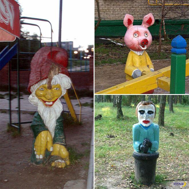 Кромешный ад детских площадок