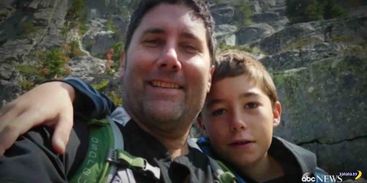 Сын героически спасал отца три дня