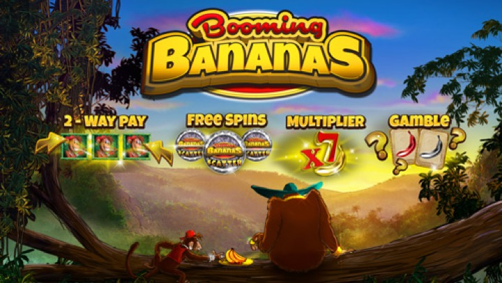 Вышел игровой автомат Booming Bananas
