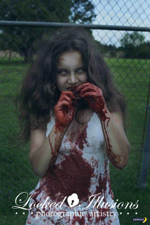 Страшные фотографии детей