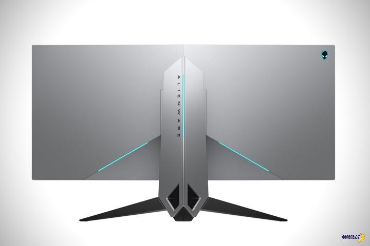 Кривой монитор для игр Alienware 34