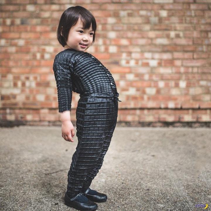Одежда растёт вместе с ребёнком!