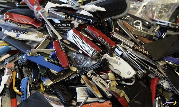 TSA продаёт конфискованные вещи через интернет-аукцион