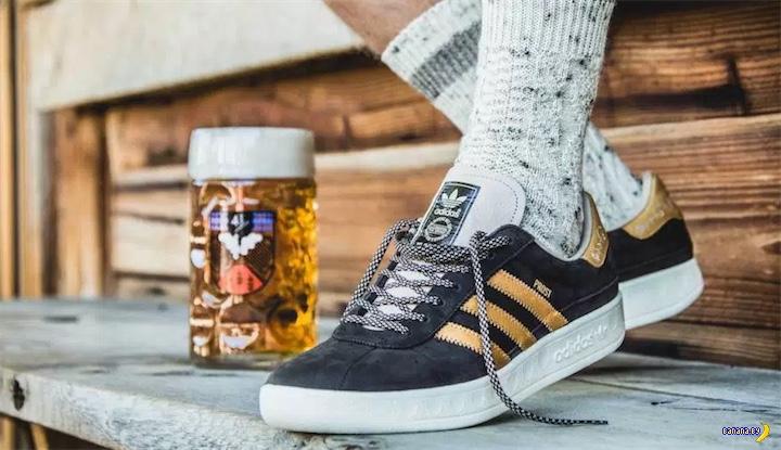 Adidas выпустил кроссовки к Октоберфесту