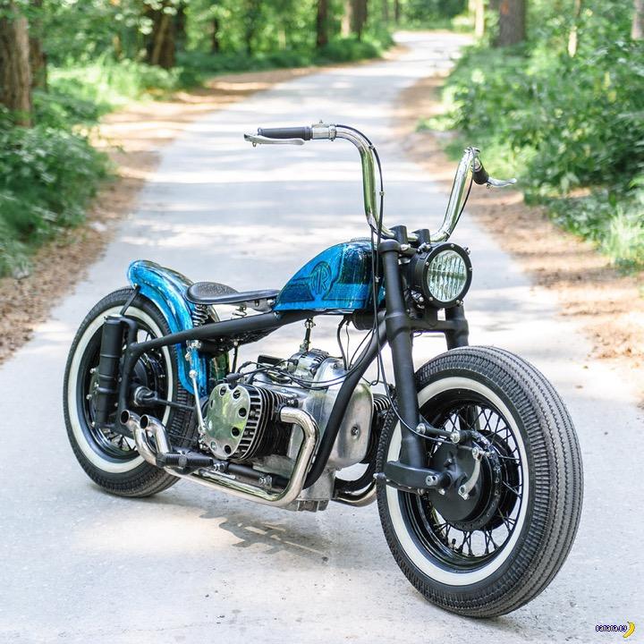 Неожиданное родство мотоцикла