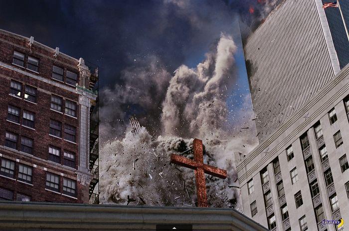 Редкие фото 9/11, которые вы не видели!