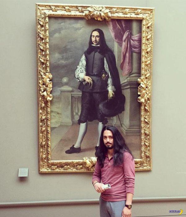 Копия тебя в музее