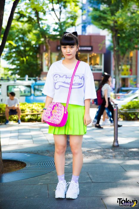 Уличная мода в Токио - возможно всё!