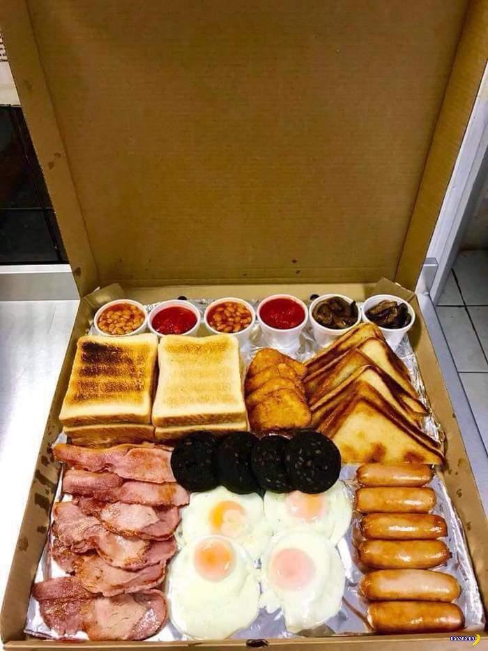 Классический английский завтрак