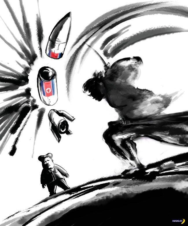Ким Чен Ын снова запустил ракету над Японией
