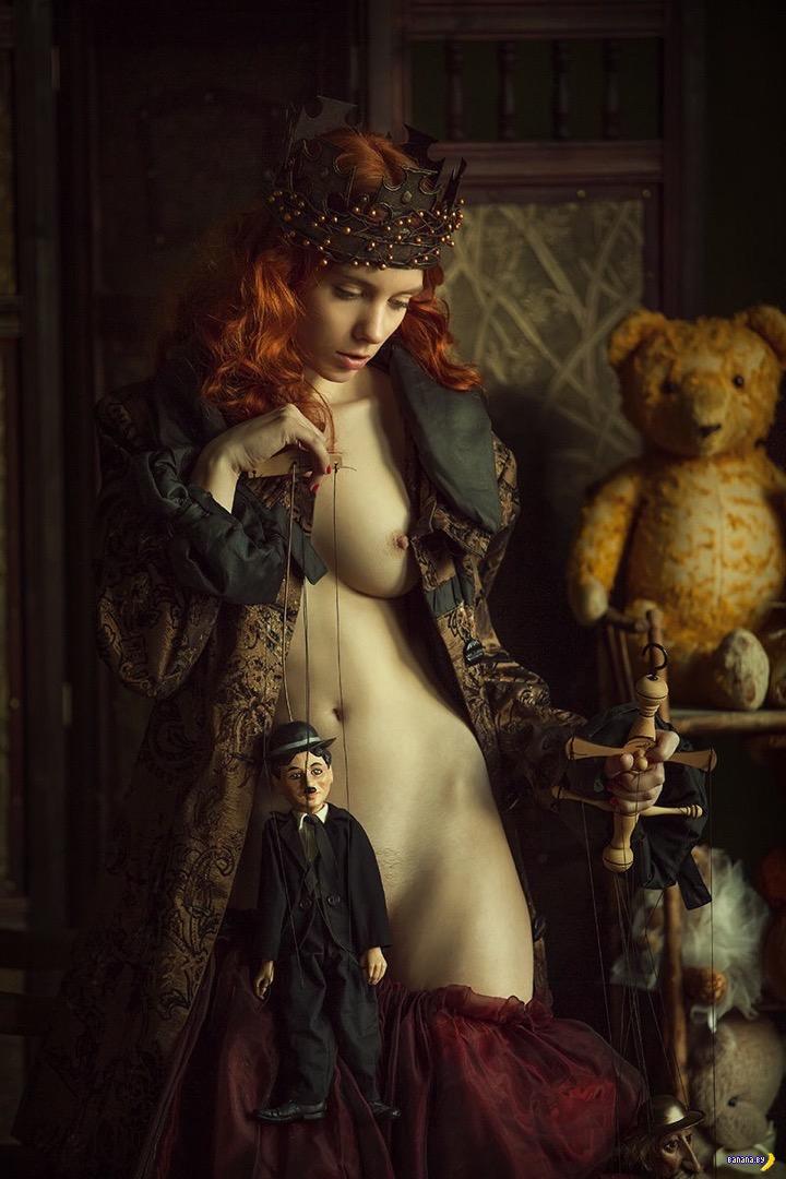 Красивое обнажение в работах Павла Шаповалова