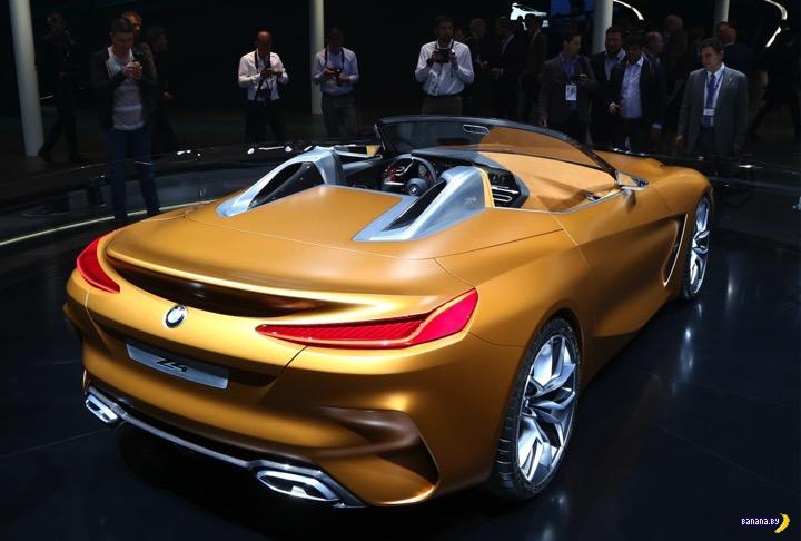 Банановый BMW Concept Z4