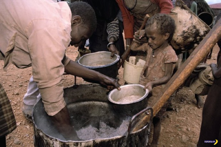 Мировая статистика по голоду