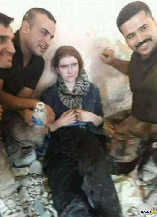 Немецкой школьнице из ИГИЛ грозит казнь